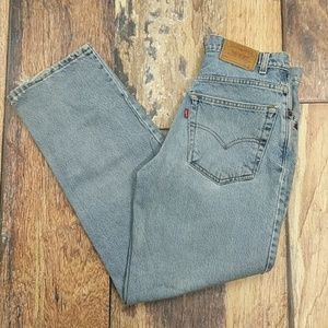 Vintage Levi's Student 550 Relaxed Fit Denim Jeans